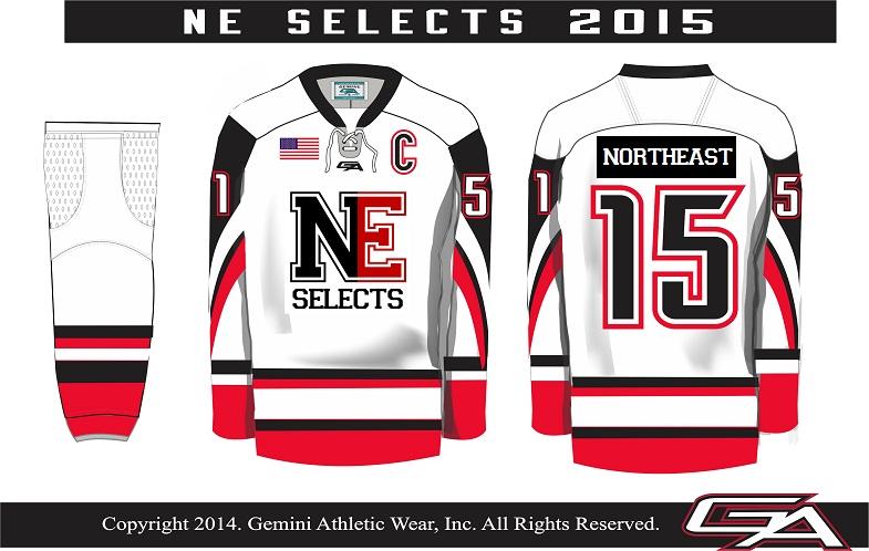 Northeast Selects Hockey Jersey